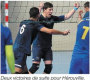 Nationale 2M: Saint-Maur – Hérouville 1-3 (Ouest France 05/02/18)