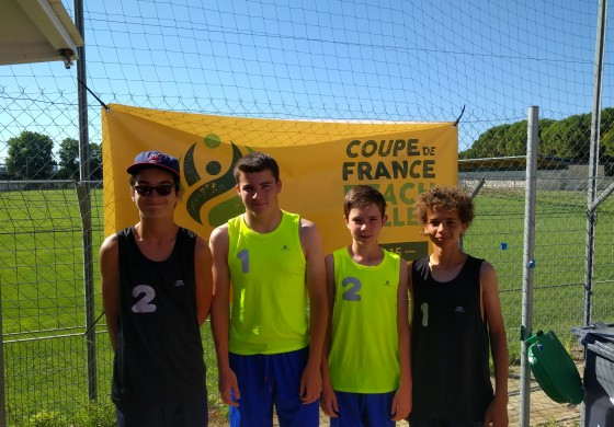 Coupe de France M15 Beach - 3eme journee