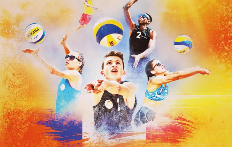 Coupe de France de Beach Volley M15 M: Le VCH en phases finales !